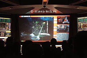 Space Park Bremen projection screens