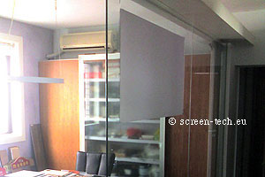 window projection film touch screen
